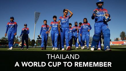 WT20WC: Thailand's T20 World Cup to remember