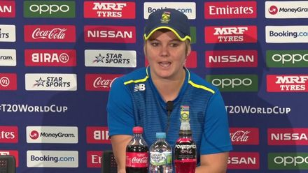 WT20WC: Dane van Niekerk on Kapp's fitness
