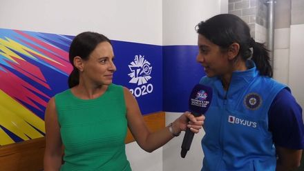 WT20WC: Neroli speaks to Mandhana after first semi