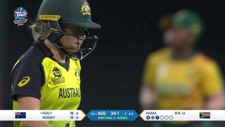 WT20WC: SA v Aus SF2 – Healy falls after good start