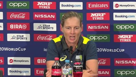 WT20WC: SA v Aus SF2 – Meg Lanning press conference