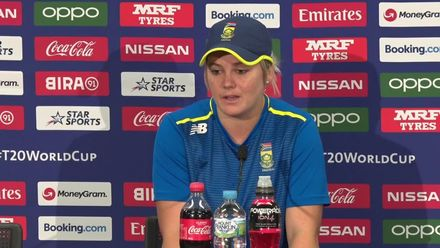 WT20WC: SA v Aus SF2 – Dane van Niekerk press conference
