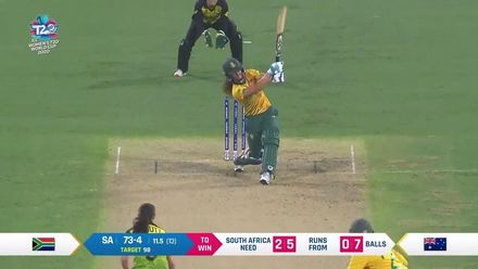 WT20WC: Nissan POTD – Wolvaardt's brilliant hit