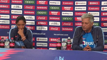 WT20WC: Ind v Eng SF1 – WV Raman and Harmanpreet press conference
