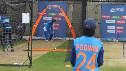 WT20WC: At the Nets - Smriti Mandhana bats