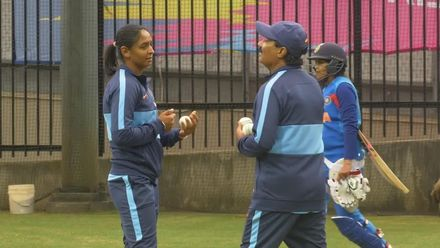 WT20WC: At the Nets - Harmanpreet Kaur tunes up