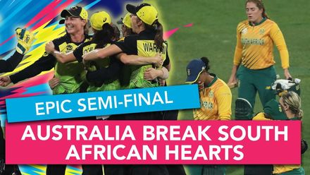 WT20WC: Relive Australia's thrilling semi-final win
