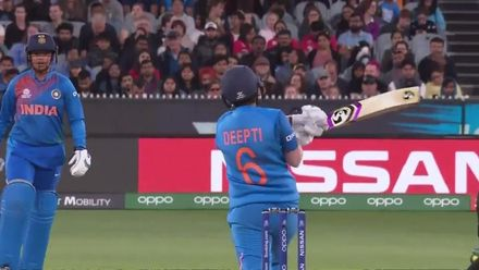 WT20WC: Ind v Aus final – Carey gets Deepti Sharma