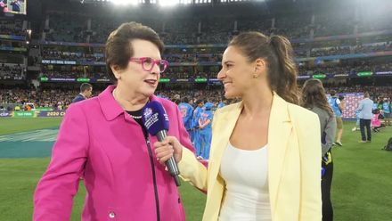 WT20WC: Billie Jean King – 'It's transformational!'