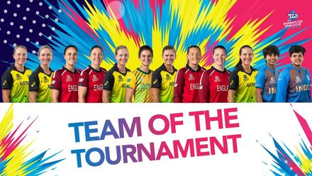 The Women's T20 World Cup 2020 Team of the Tournament