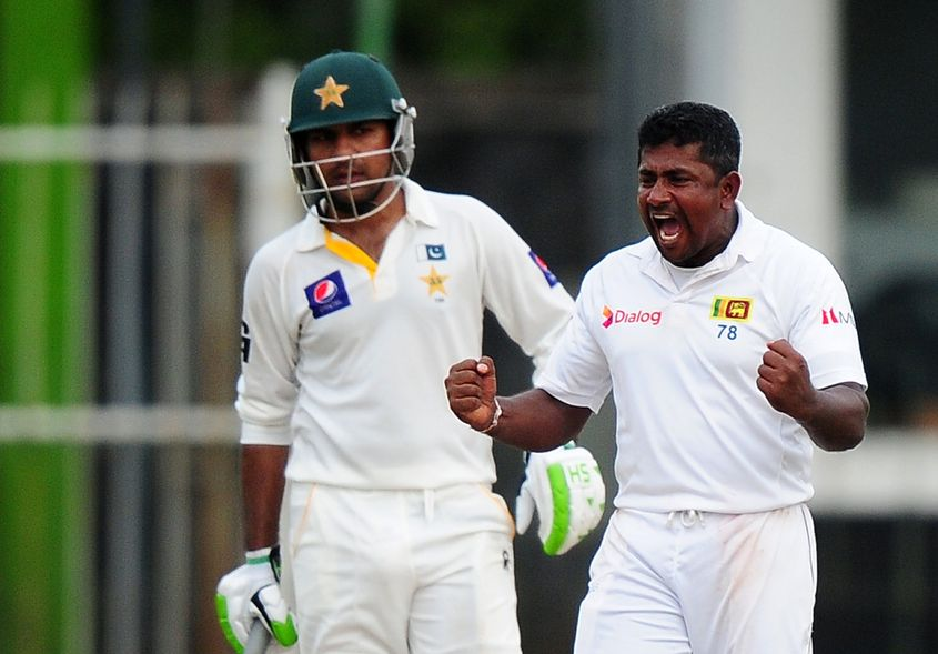 Even on a relatively fresh pitch, Herath was able to cause troubles aplenty