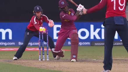 WT20WC: Bails off