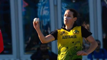 WT20WC: Megan Schutt in the wickets