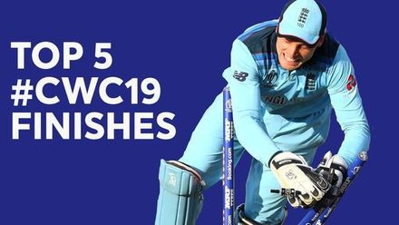 ICC Men's Cricket World Cup 2019: Top five closest finishes