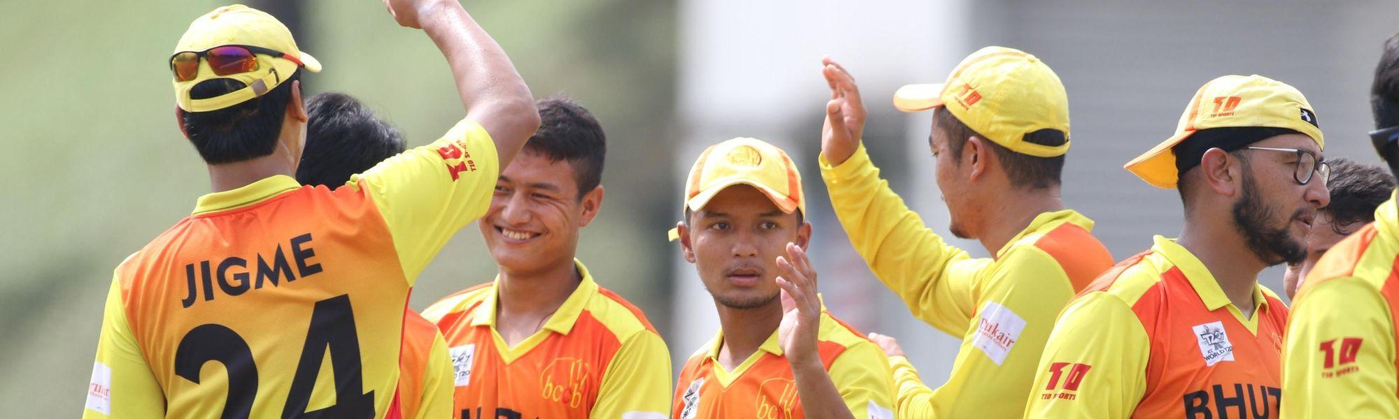 Bhutan-players-celebrates
