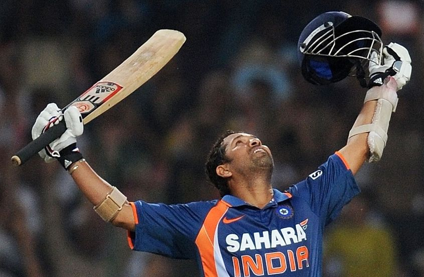 Tendulkar was the first man to hit an ODI double hundred