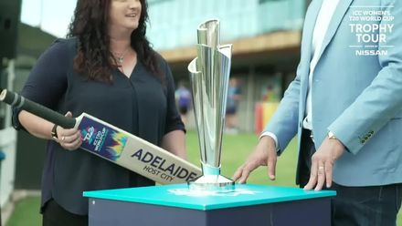 WT20WC Trophy Tour: Karen Rolton