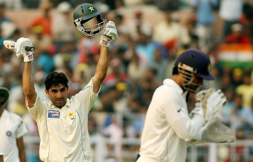Misbah saved Pakistan from follow-on with his 161*