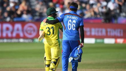 CWC19: M4 AUS v AFG –Extended highlights