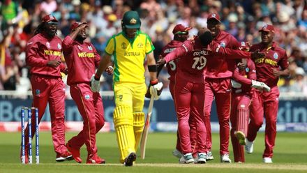 CWC19: M10 AUS v WI – Extended highlights