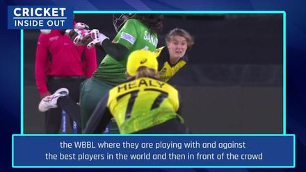 Lisa Sthalekar on the impact of WBBL   Cricket Inside Out