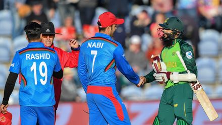 CWC19: M21 SA v AFG – Extended highlights