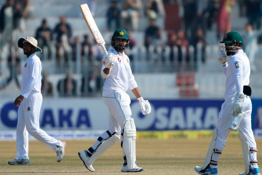 Haris Sohail hit a half-century in Pakistan's innings victory over Bangladesh in February