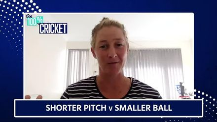 Sophie Devine discusses merits of smaller ball in women's cricket