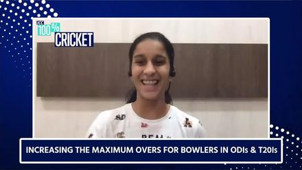 Jemimah on increasing the maximum overs for bowlers