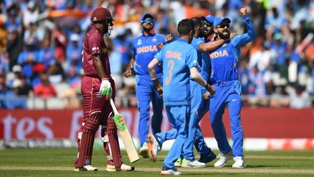 CWC19: M34 WI v IND – Extended highlights