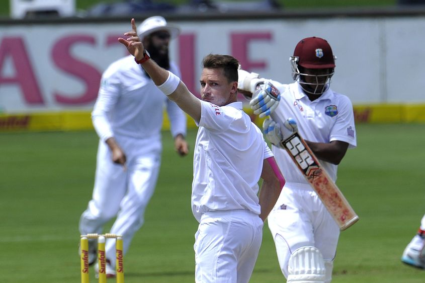 Steyn claimed his third-best Test bowling figures in Centurion against West Indies