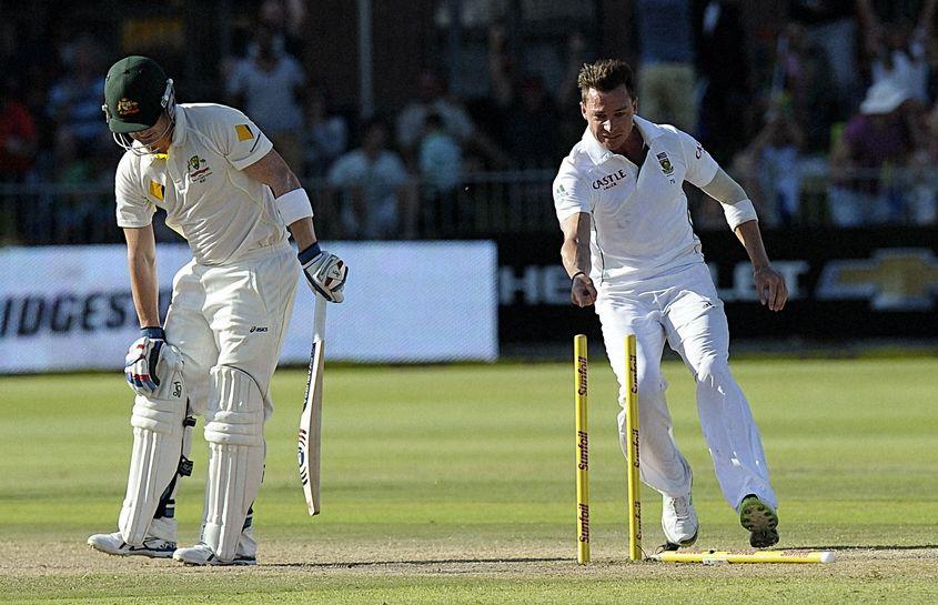 Steyn put up a classic display of reverse swing in Port Elizabeth in 2014