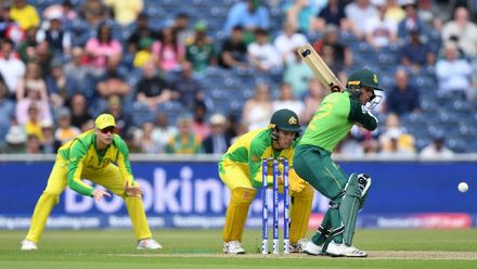 CWC19: M45 AUS v SA – Extended highlights