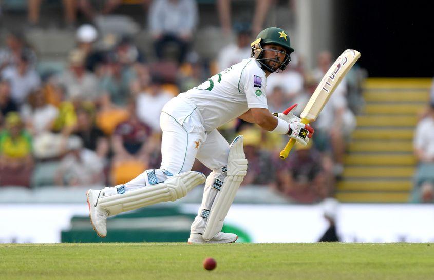 Yasir Shah bat