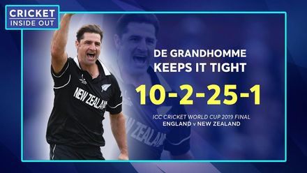 How important was de Grandhomme's CWC19 final spell? | Cricket Inside Out