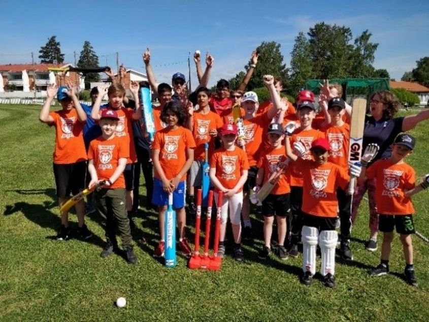 Cricket Finland hope to make cricket a household sport in the country (Photo: Manoj Thavayogarajah)