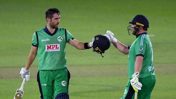 Balbirnie, Stirling advance after centuries in final ODI