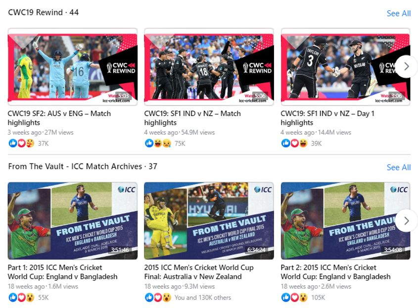 ICC drew upon its rich archives to keep fans engaged during the hiatus in international cricket through campaigns like CWC19 Rewind and From The Vault
