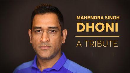 MS Dhoni: A tribute