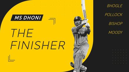 MS Dhoni – the finisher