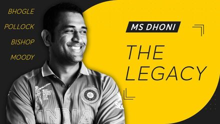 The legacy of MS Dhoni