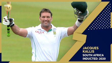 ICC Hall of Fame 2020 | Jacques Kallis