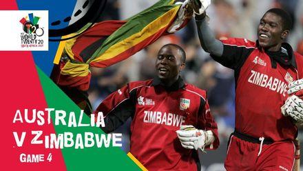 Brendan Taylor stars in Zimbabwe's huge upset | AUS v ZIM | T20WC 2007