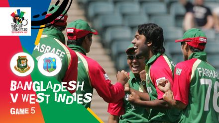 Bangladesh begin with a bang | BAN v WI | T20WC 2007