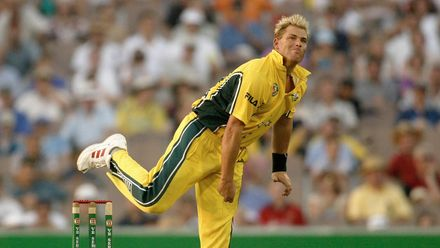 Shane Warne finished as the joint-highest wicket-taker with 20 wickets in the 1999 Men's Cricket World Cup