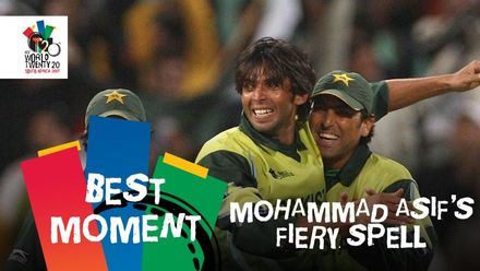 Mohammad Asif's magical spell | IND v PAK | T20WC 2007