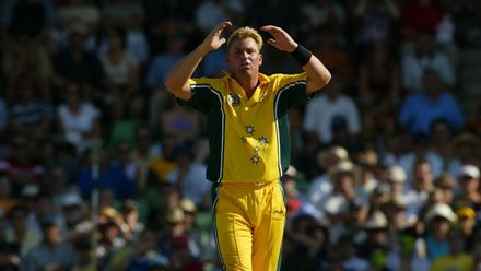 Shane Warne's tally of 12 wickets in Men's Cricket World Cup semi-finals and finals is the second-best ever