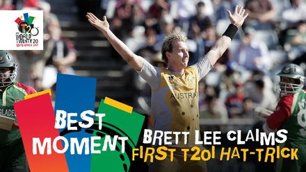 Brett Lee's superb hat-trick | AUS v BAN | T20WC 2007