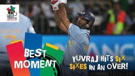 Yuvraj slams six sixes in an over | ENG v IND | T20WC 2007