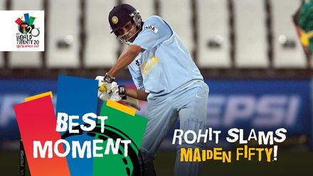 Rohit slams maiden T20I fifty | IND v SA | T20WC 2007